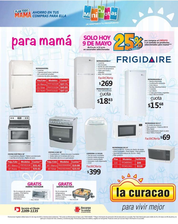ofertas para regalar electrodomesticos la curacao elsalvador - 09may15