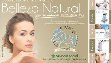 Promociones 2x1 entratamientos de belleza ARRUGAS FLACIDEZ ACNE