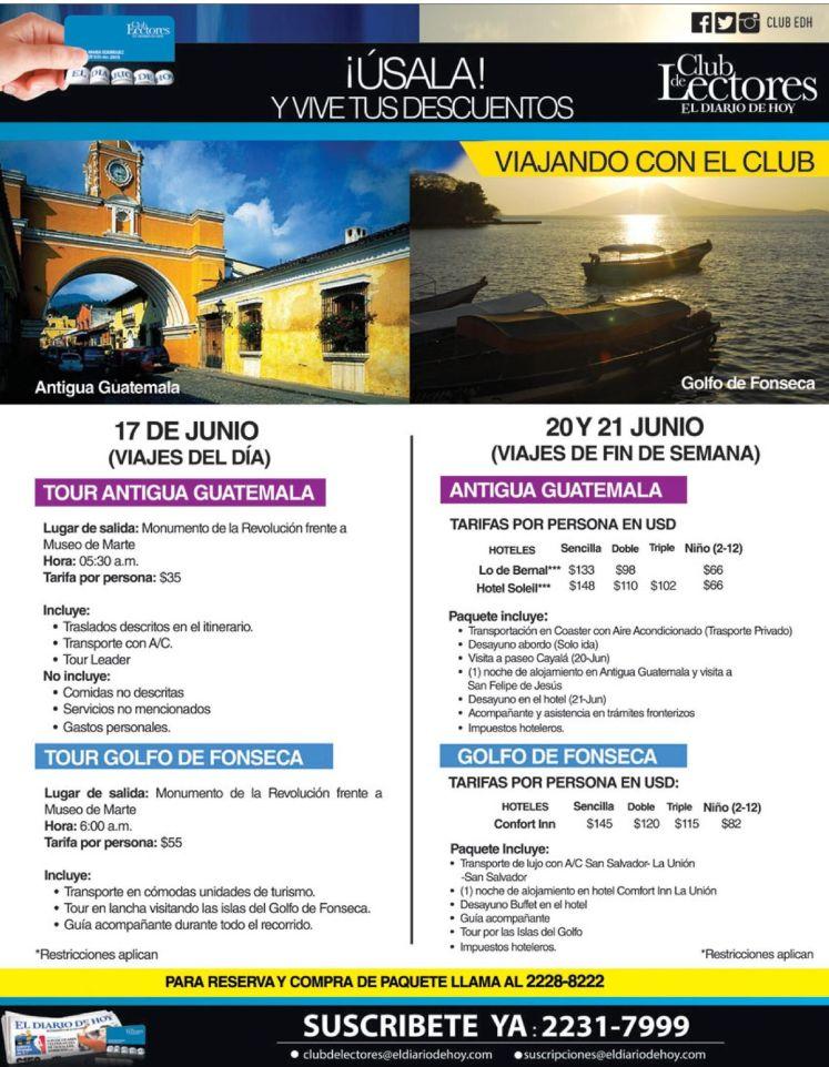 Tours a GUATEMALA con descuento disfrutalo