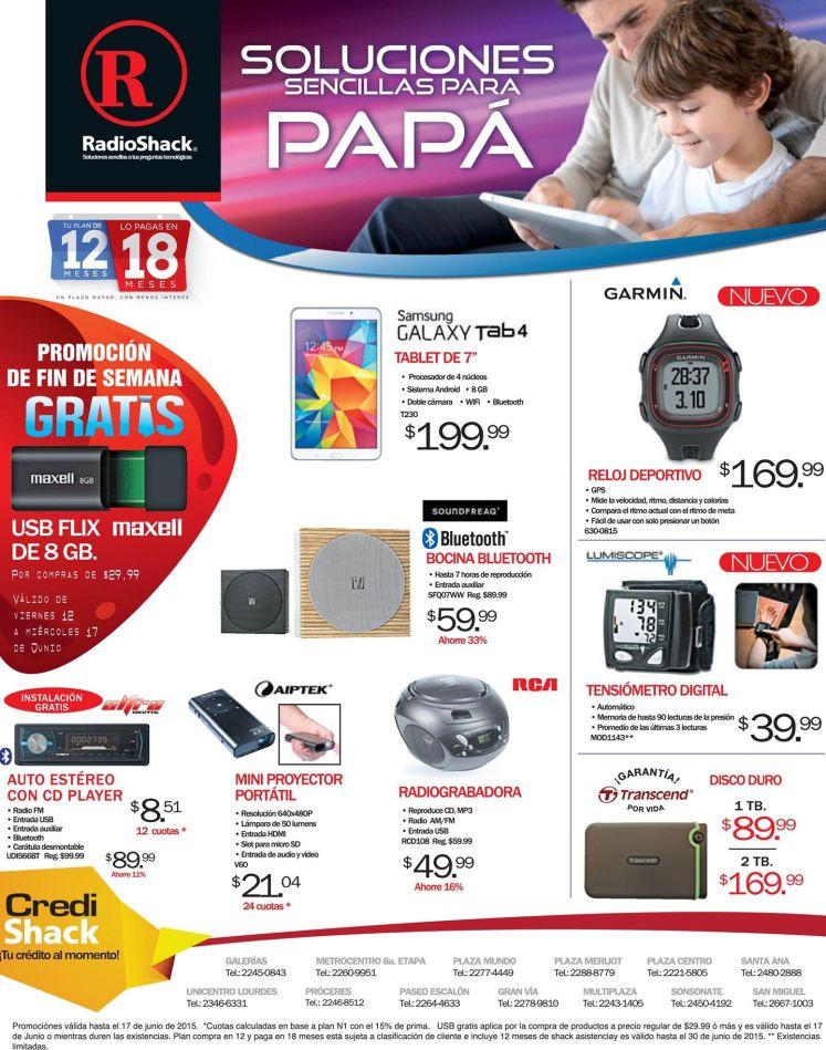 accesorios de tecnnologia RadioShack PROMOCIONES y soluciones sencillas para PAPA