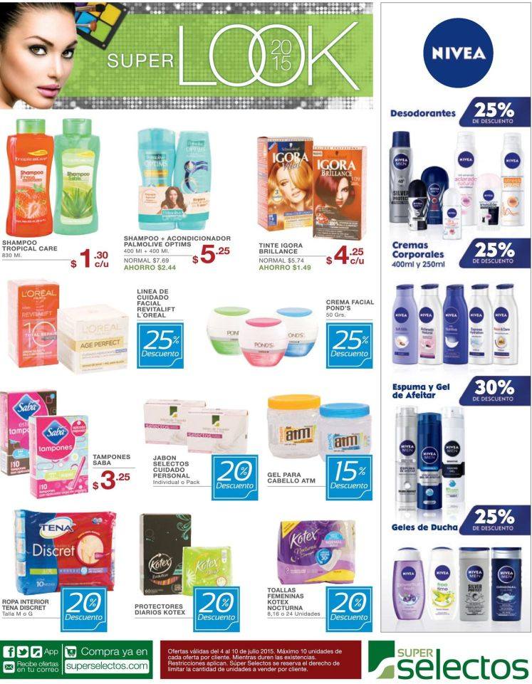 DISCOUNTS for body care treatments