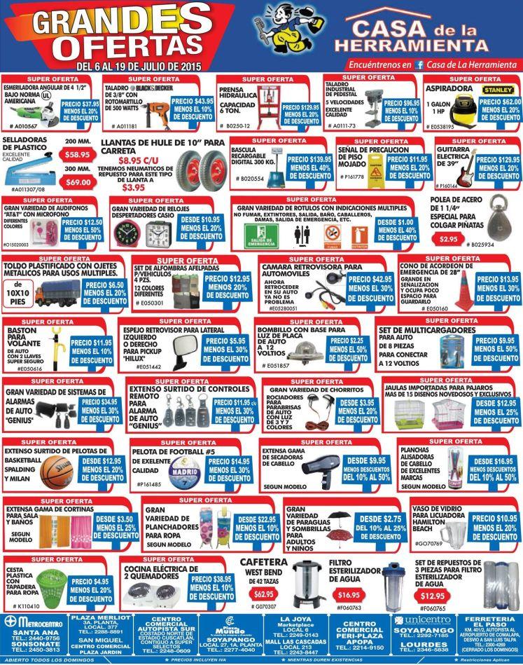 De todo en herramietas y con ofertas - 06jul15