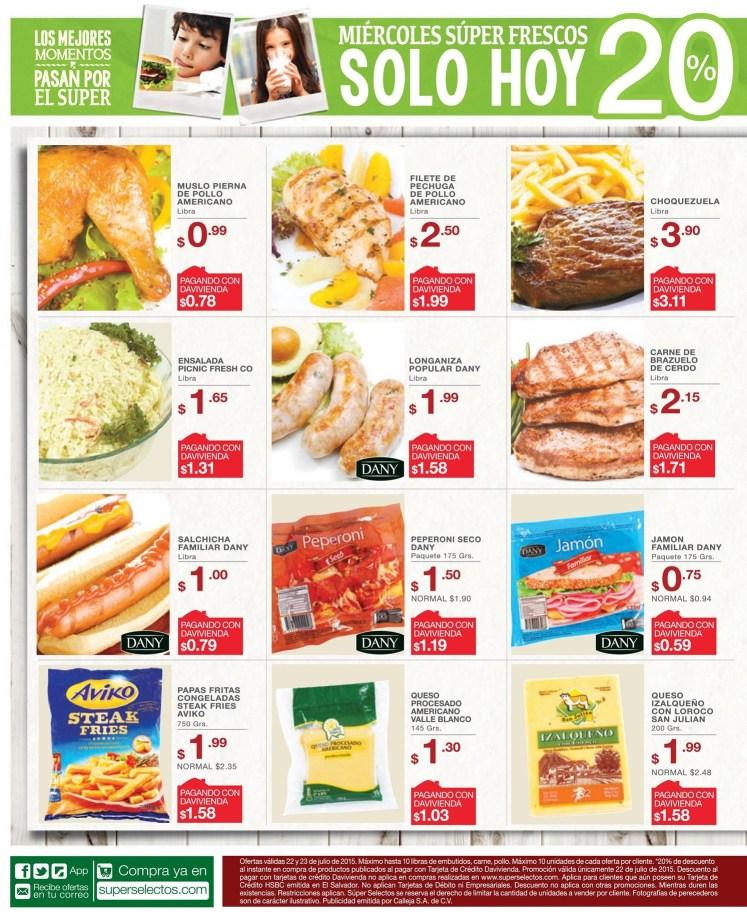 Filete de pollo americano FRESCO delicioso y en ofertas SELECTOS - 22jul15