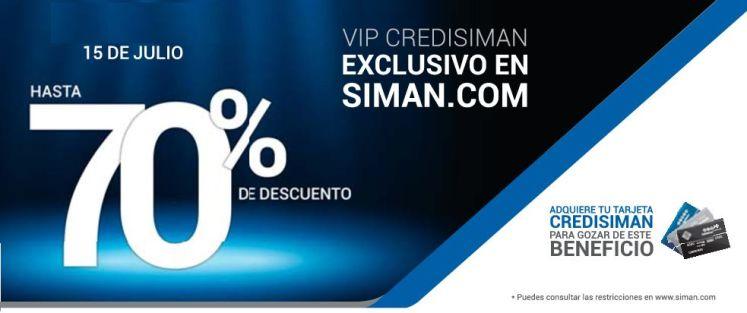 VIP Credisiman exclusivo en siman.com ahorra - 15jul15