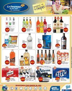 Vodka WiSKY Ron Vino Cervezas TODAS en promocion - 31jul15