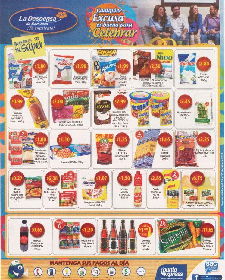 WEEKEND deals supermarket more promotions - 10jul15
