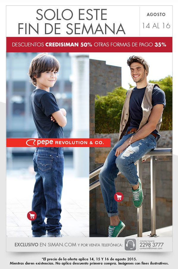DISCOUNT PEPE revolution apparel en almacenes siman - 14ago15