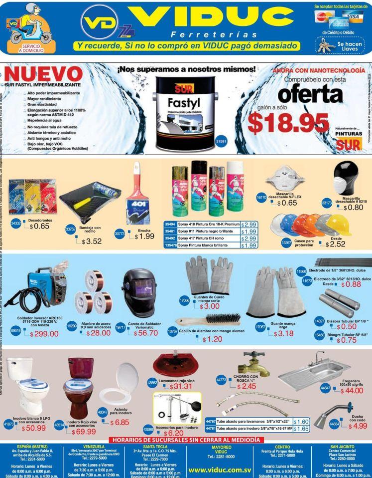 Ferreterias VIDUC con artculos y productos para tu hogar