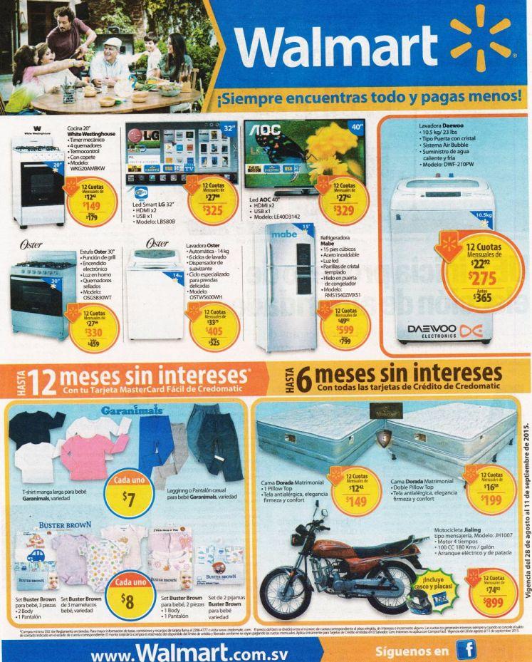 Productos para el HOGAR con descuento en WALMART el salvador - 28ago15