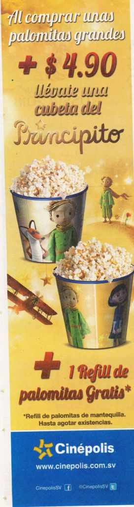 EL PRINCIPITO the movie promociones cinepolis