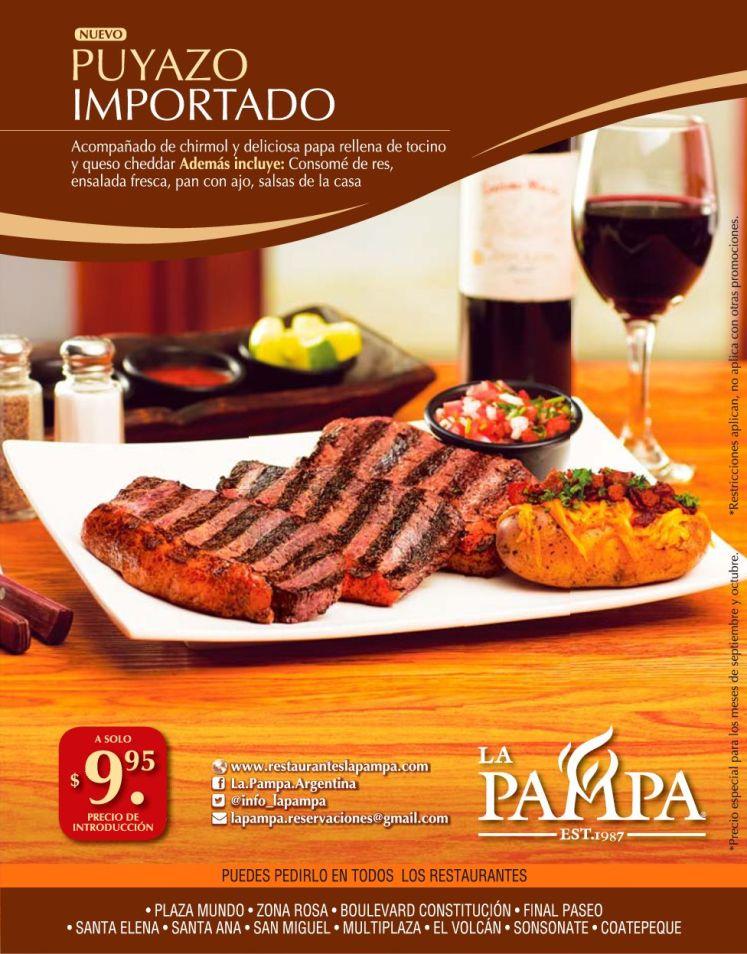 LA PAMPA new PUYAZO IMPORTADDO 9.95 de dolar