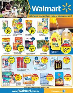LUNES de compras de super en WALMART muchas promos - 28sep15