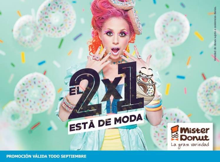 Septiembre 2015 MISTER DONUT pone de moda las donas al 2x1