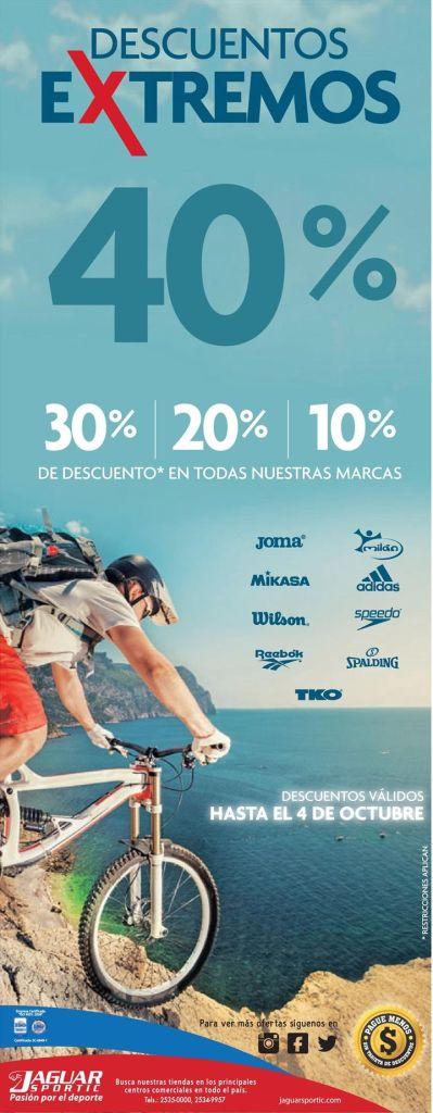 XTREME discounts for XTREME sports gracias a JAGUAR SPORTIC - 25sep15