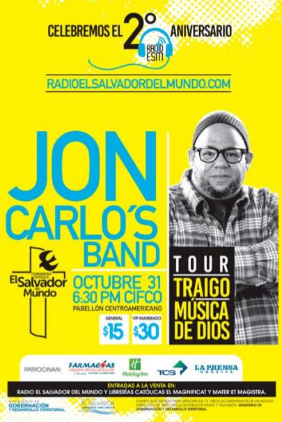 JON CARLOS band el salvador 2015