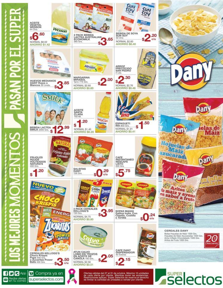 Super selectos las ofertas del dia con los productos del dia a dia - 27oct15