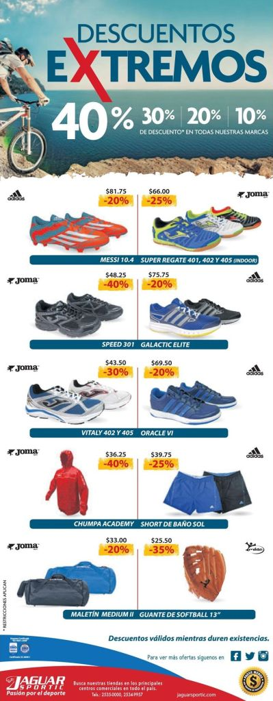 Xtreme discounts en tus sport products
