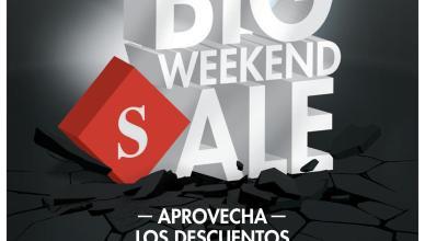 SIMAN te invita a su BIG weekend sale - sabado y domingo