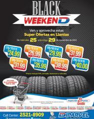 Super ofertas en llantas DIPARVEL black weekend 2015