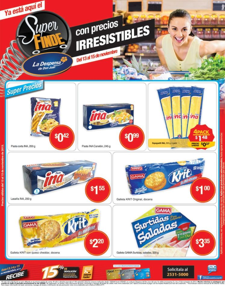snacks deliciosos e irresistible en la despensa - 13nov15