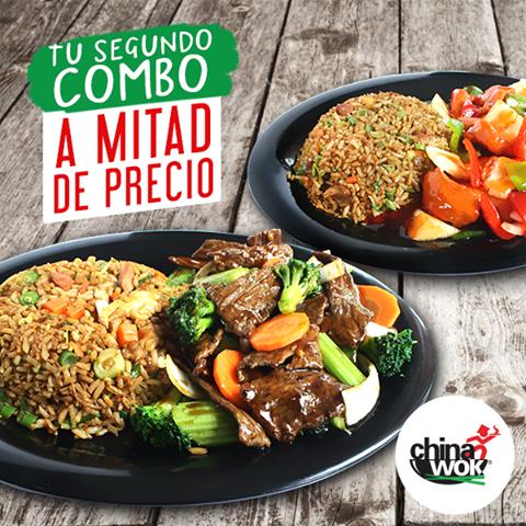 Food Court promociones comida CHINA WOK el salvador - Dic15