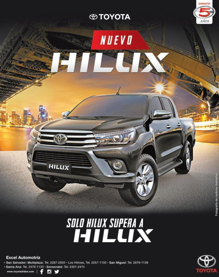 New TOYOTA hilux best pickup at the world