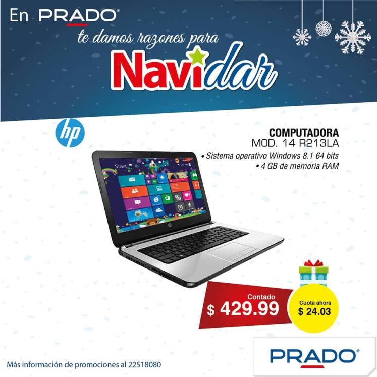 laptop computer hp en PRADO con promocion NAVIDAR
