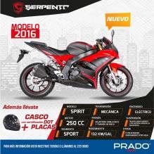 Ofertas y promociones en motos serpento modelos 2016