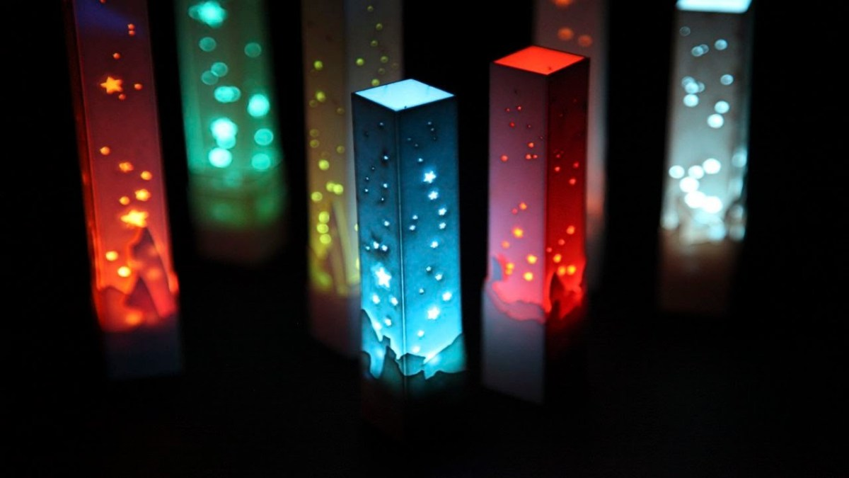 [Tendencias] Decorando con lamparas baratas led