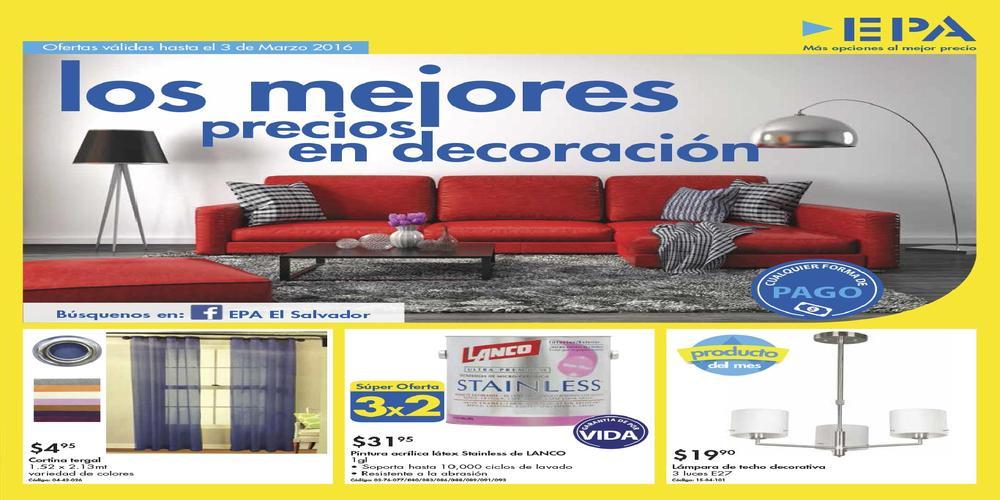 Ofertas ferreteria epa catalogo decoracion hogar bricolaje Oferta decoracion hogar online