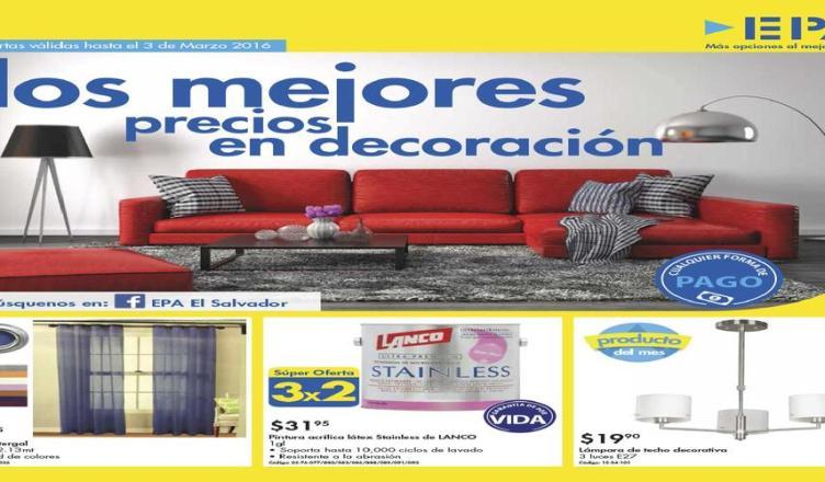 Nuevo folleto ferreter a epa decoraci n hogar bricolaje for Ofertas decoracion hogar