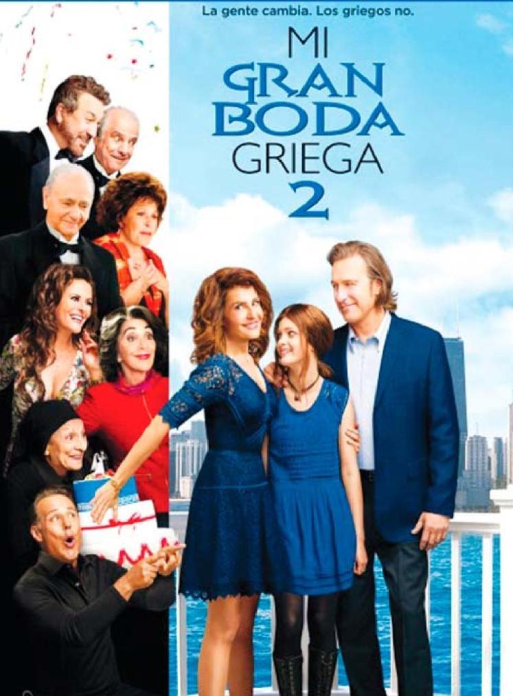 Mi gran boda griega 2 THE MOVIE