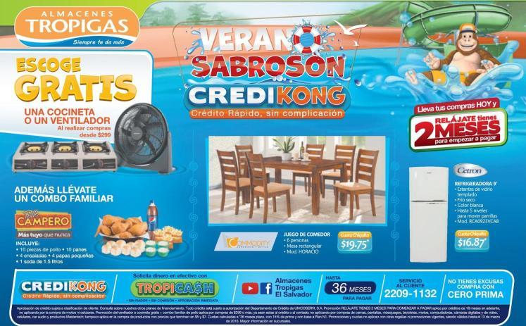 Si compras cash o a l credito siempre tienes ofertas con TROPIGAS en verano