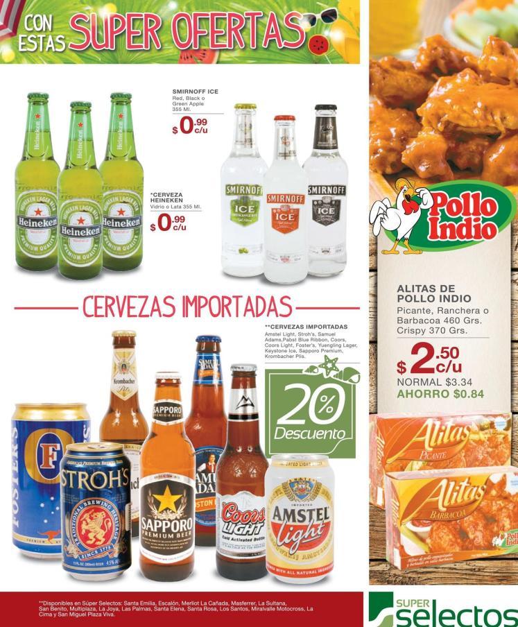 Tus cervezas favoritas en oferta para las vacaciones