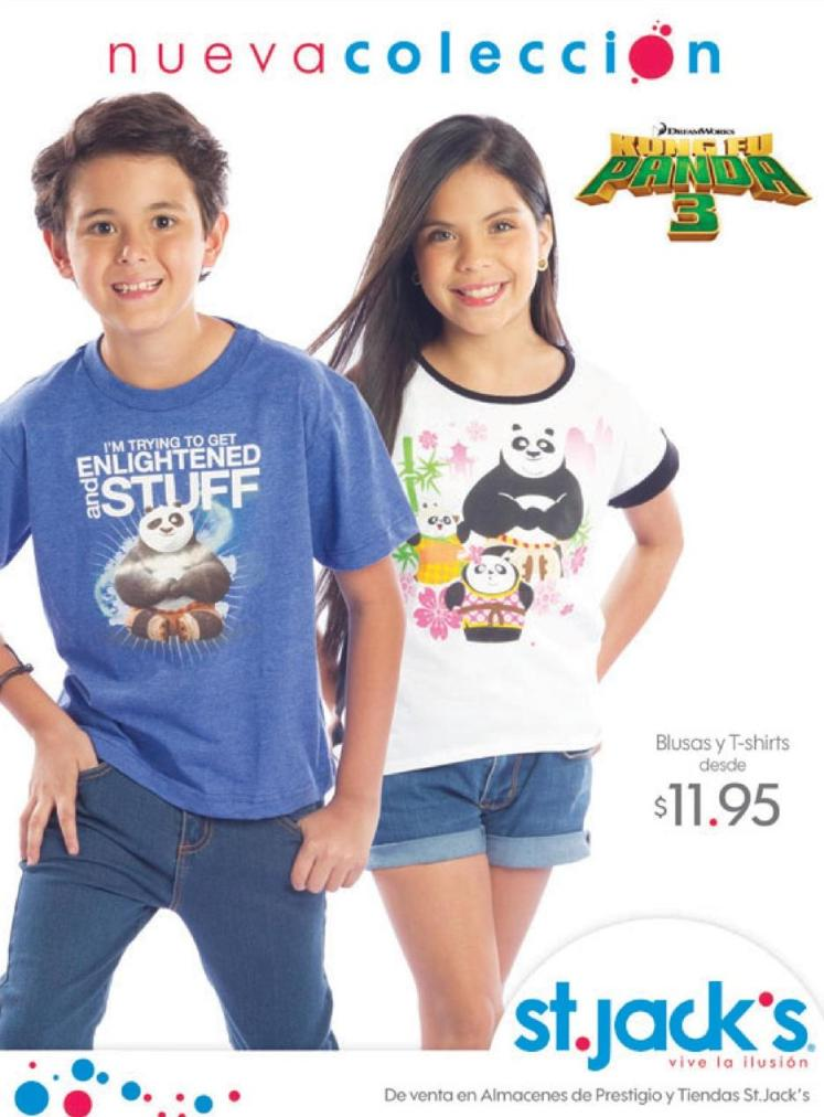 new collection for KIDS - KUNG FU PANDA 3