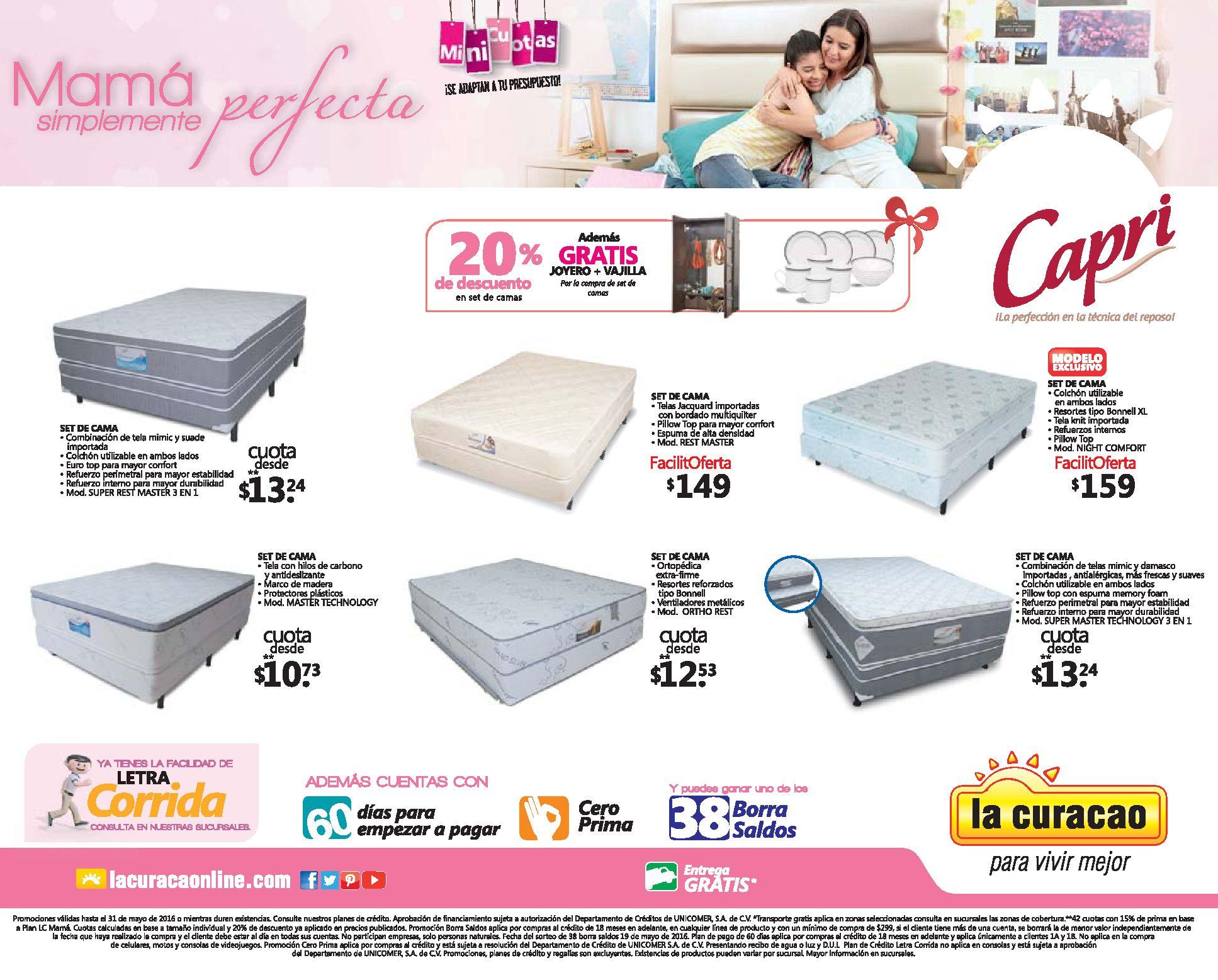 6 camas en promocion para mama en la curacao ofertas ahora for Camas en oferta