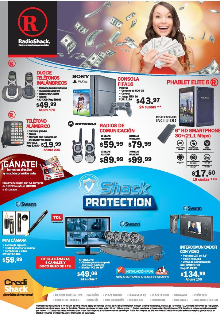 RADIO SHACK Electronic device for home and person security