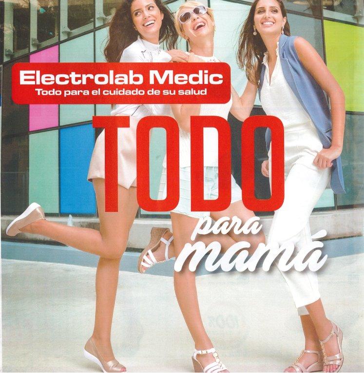 Electrolab MEDIC cuida la salud y los pies de mama
