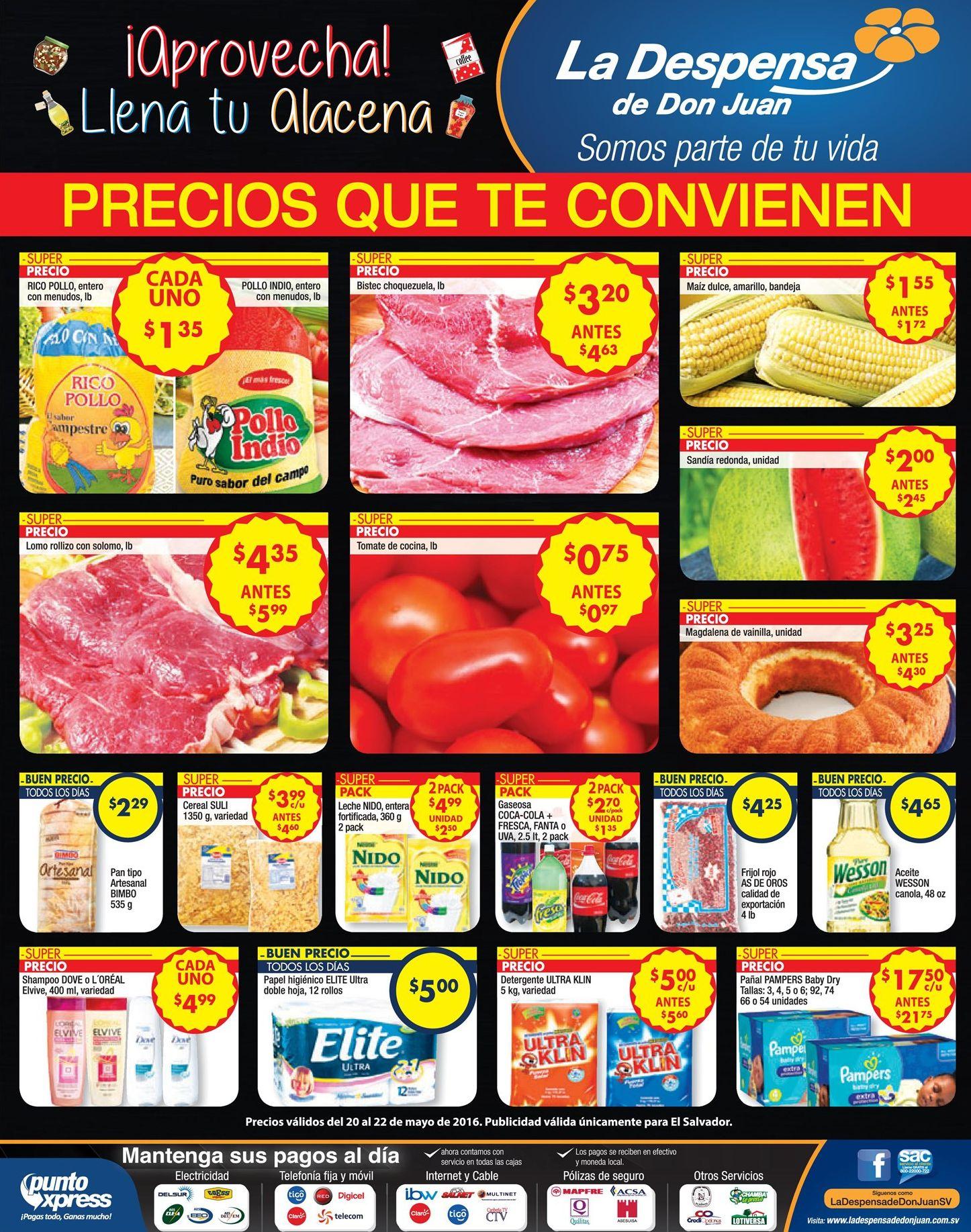 Nuevas ofertas que te convienen de LA Despensa de Don juan - 20may16