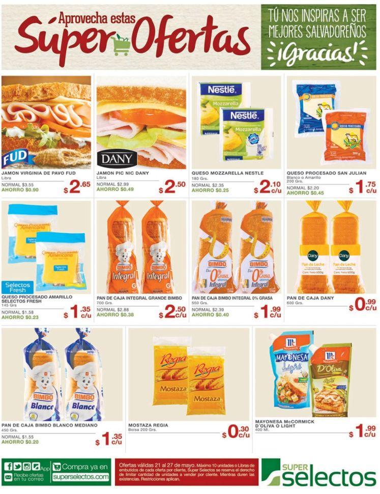 Super Selectos fin de semana super ofertas - 21may16