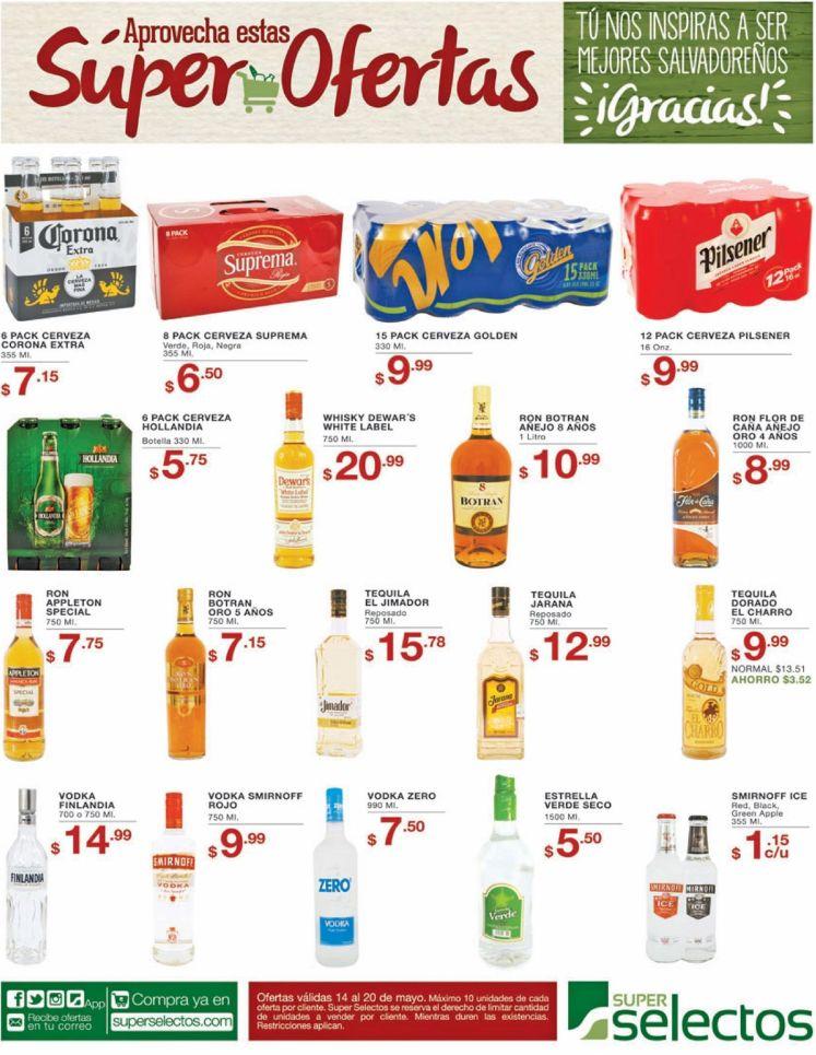 Super ofertas de finde semana en Super Selectos - 14may16