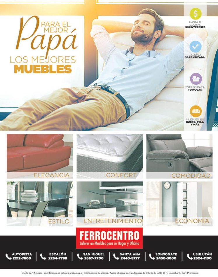 Descanso Elegancia Exclusiviad FERROCENTRO furniture deald