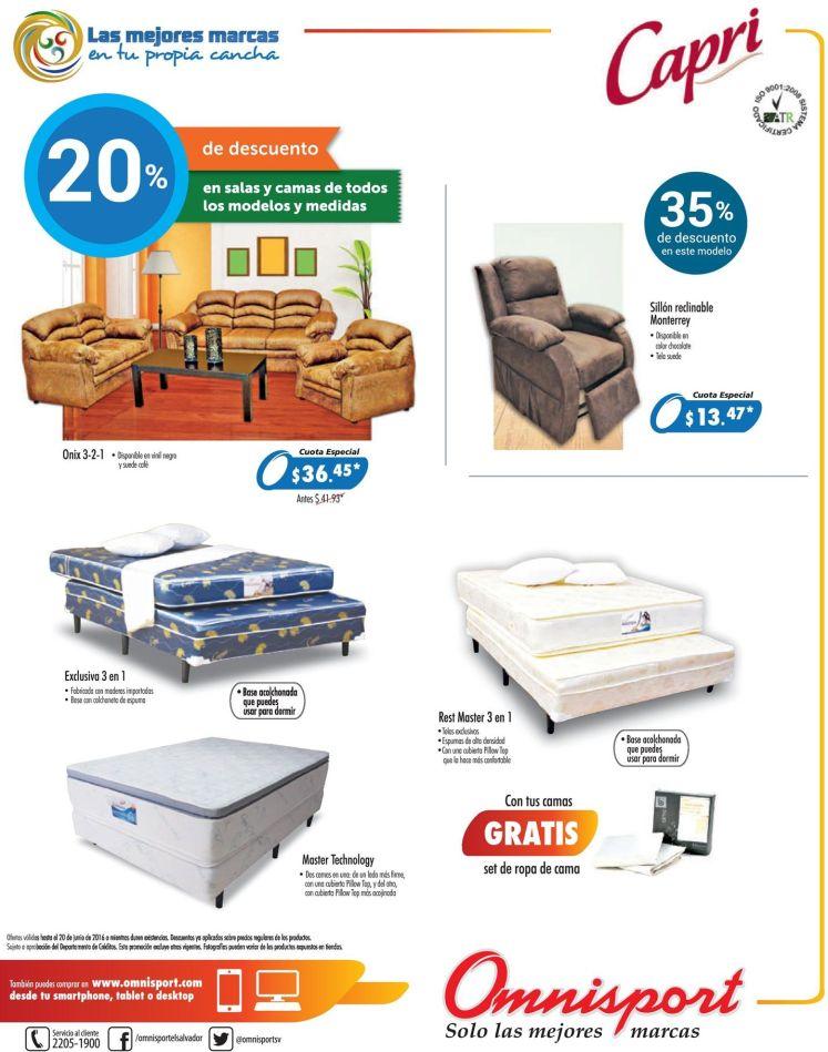 camas y muebles en omniport father day