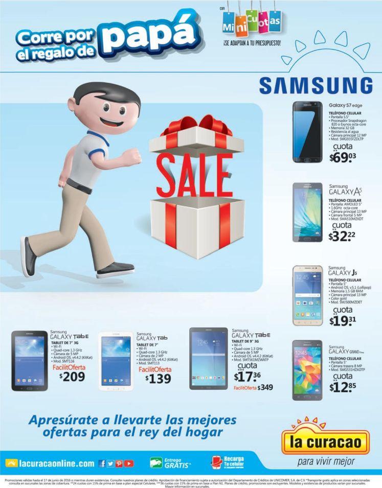 celulares y tablets en oferta en la CUrACAO - dia del padre
