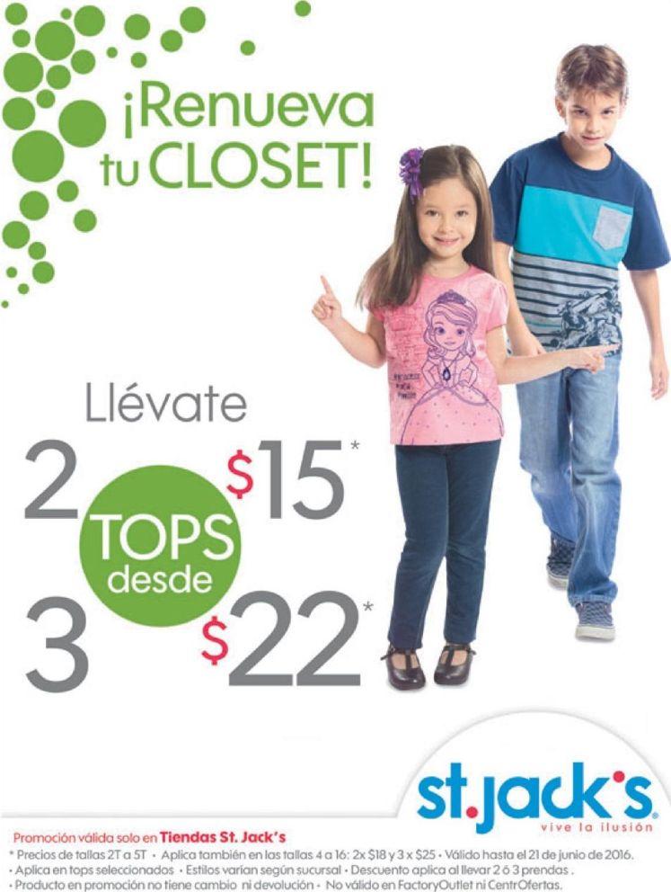 ofertas para renovar closet de tus hijos