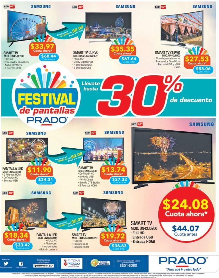 Festival de pantallas en almacenes prado el salvador - Julio 2016