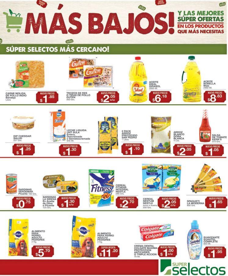 LOs precios mas baratos en super selectos - 22jul16
