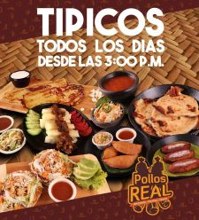 Platillos tipico salvadorean pollo real
