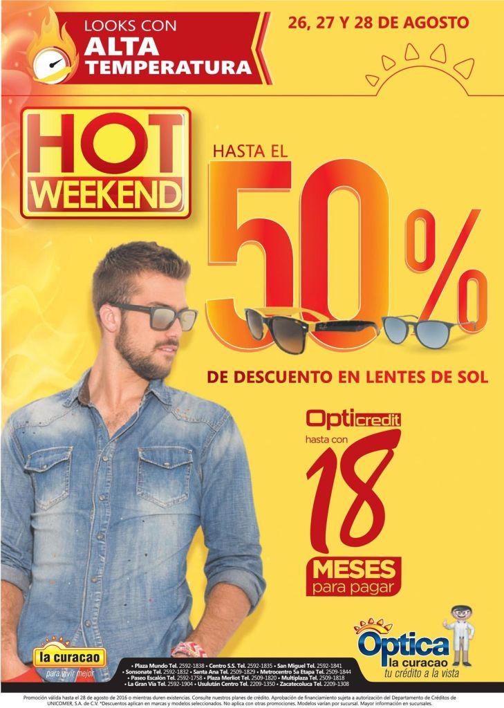 LENTE DE SOL de marca y calidad para un fin de semana HOT