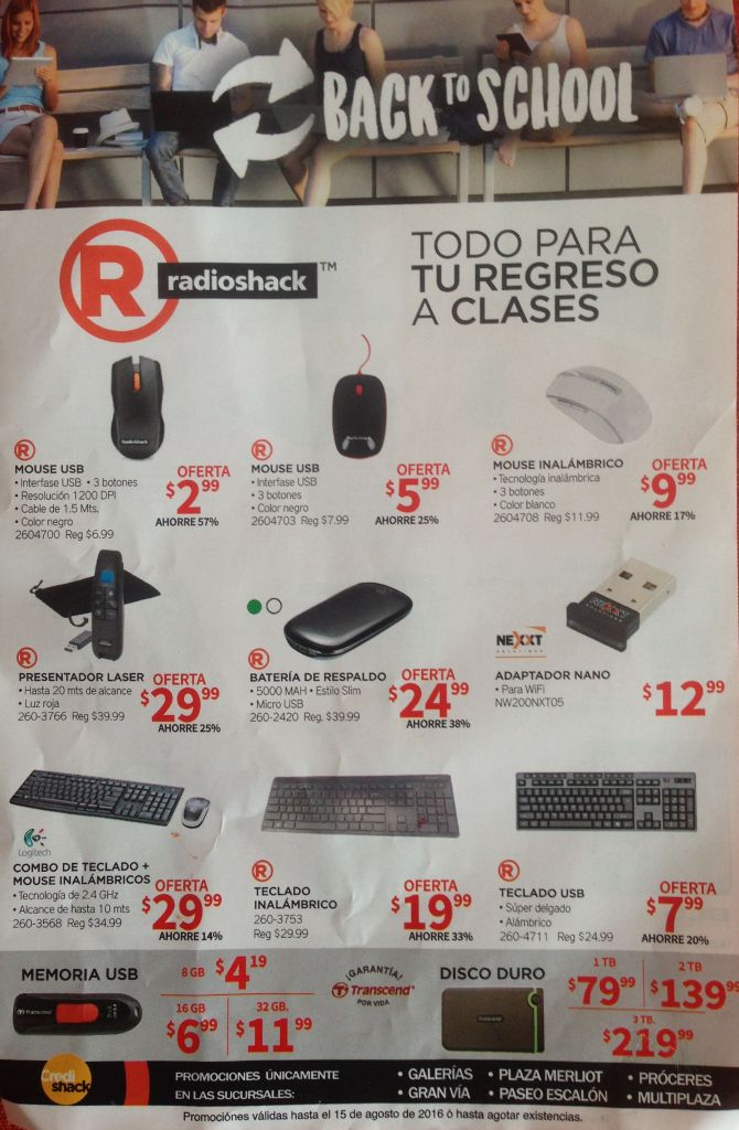 technology gadgets for students radio shack